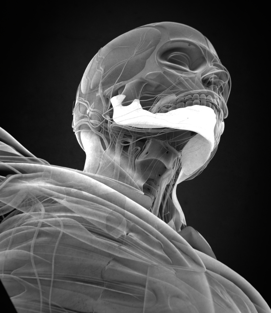 Surgeons reconstruct patient's jaw using bone from the leg in pioneering procedure